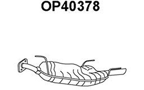 Preisvergleich Produktbild Veneporte OP40378 Nachschalldämpfer