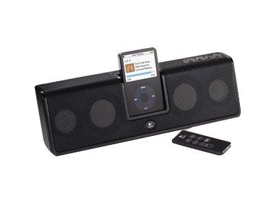 Logitech mm50 Tragbare Lautsprecher schwarz (Ipod-docking-station Logitech)