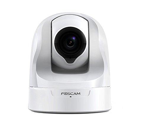 Foscam FI9826P Telecamera IP Wireless Alta Definizione Motorizzata 1.3 Megapixel, Zoom 3x, Ottica 1/5 4mm 35~70°, Bianco
