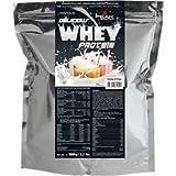 PEAK Delicious Muscle Whey Protein Molke Eiweiß, 1000g 2.2lbs Beutel, Geschmack:Vanilla Ice Cream