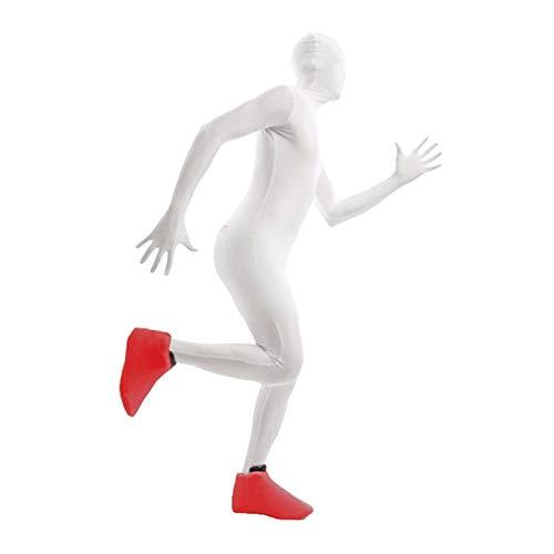 Morphsuits-Costume da copri scarpe, unisex, taglia unica, colore: rosso