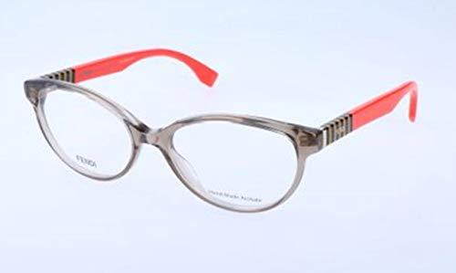 Fendi Damen FF 0016 7TL/17-53-17-140 Brillengestelle, Grau, 53