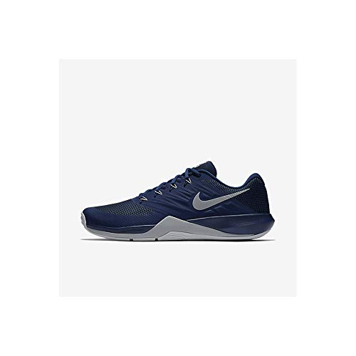 Nike Unisex Mesh Lace Up Sports Shoes_Blue