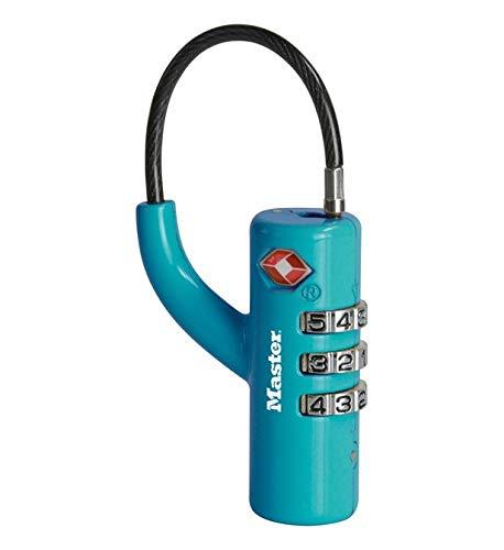 Master Lock 4717Eurdblu Candado TSA con combinación para Maleta. Colo