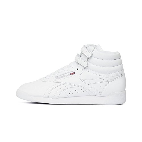 Reebok Classic Damen Sneakers Freestyle Hi OG Lux BD4468 FS High OG Weiss (10) 38,5 (Reebok Freestyle Hi)