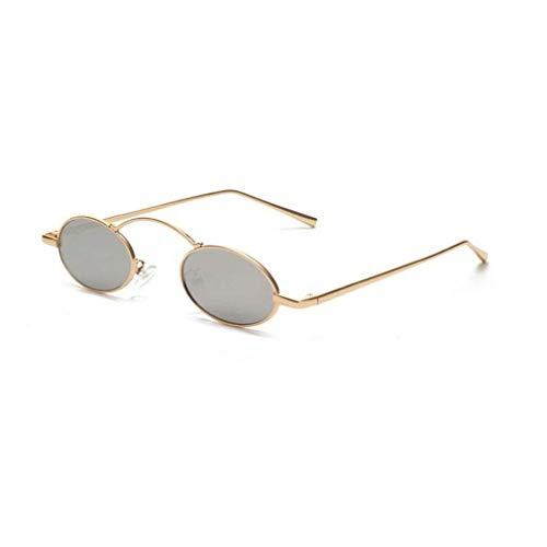 Preisvergleich Produktbild JOLLY Herren und Damen Retro Fahren Polarisierte Sonnenbrille Metallrahmen Ultraleicht (Farbe : D)