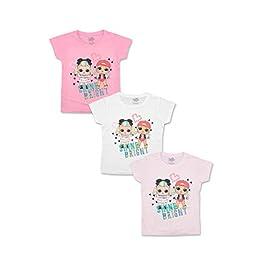 L.O.L. Surprise! – T-Shirt Maglia Maglietta a Maniche Corte – Full Print – Bambina – novità Prodotto Originale con Licenza Ufficiale 192-174X