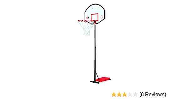 Sure Shot 514 Portable Basketball Unit With Acryli Backboard and Pole Padding