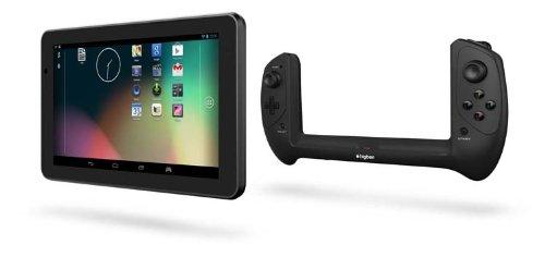 BIG BEN GT320206 GAMETAB - ONE 17,8 cm (7 Zoll) Tablet - PC (Rockchip RK3188, Quad - Core, 1,8GHz, 2GB RAM, 16GB HDD, Mali 400, 2 Megapixel Kamera, Android Touchscreen) schwarz - [PC]