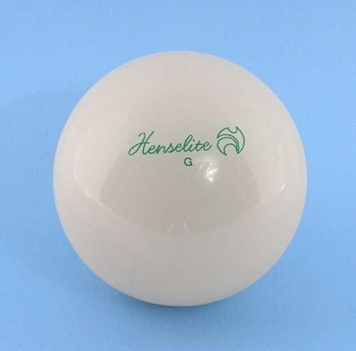 NEW Henselite intérieur de Bowling solide plat blanc de Sport Bols jack-white 6,3cm