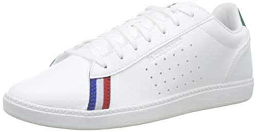Le Coq Sportif COURTSTAR Sport, Zapatillas para Hombre, Blanco (Optical White/Evergreen Optical...