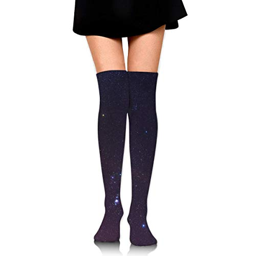 1bbe82a766 BEFFW Knee High Socks The Whole Orion Constellation Women's Athletic Over  Thigh Long Stockings