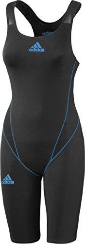 Adidas maillot de bain pour femme adizero gLD2O Noir Noir/Bleu