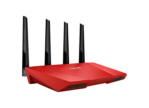 2400 Dual-Band Power WLAN Router (802.11 a/b/g/n/ac, Gigabit LAN/WAN, USB 3.0, Print FTP UPnP VPN Server, IPv6, Wave 2 Mu-Mimo) ()