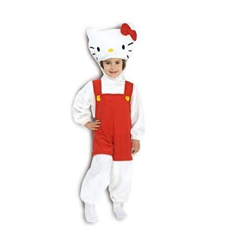 P&g 07841 costume di carnevale da hello kitty taglia 2-5/6 anni