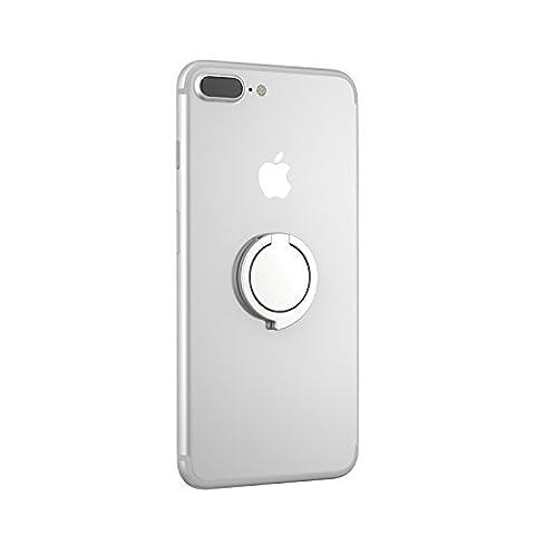 Kronya® | 360° drehbarer Ringhalter | Smartphone Halter + Ständer