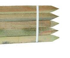 *10er Pack Hartholzpfähle Robinienholz, angespitzt 1.5m, Ø 22 x 22mm*