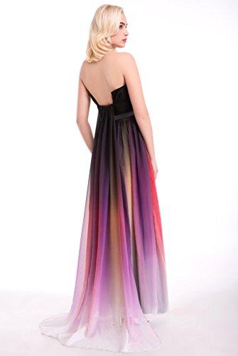 Drasawee - Robe - Colonne - Femme Jaune - Gelb - Multi4#