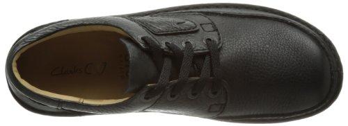 Clarks Nature 2, Chaussures basses homme Noir (Black)