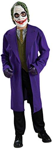 erdbeerloft - Jungen Joker Batman Movie Karneval Faschingskostüm, 110, Mehrfarbig