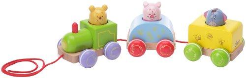 Imagen 1 de Diset Winnie The Pooh Tren Arrastre Madera