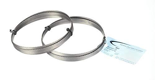 Juego de 2hojas de metal para sierra, Bi-metal M 42,medidas: 1335x 13x 0,65mm, 14dientes...