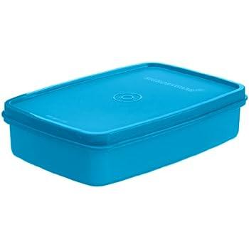 Signoraware Crispy Slim Small Box Container, T Blue