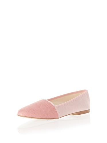 Jonny's Vegan Damen Schuhe Ballerina AJ1416 Espadrilles Montblanc pink (rose) (38) - 4