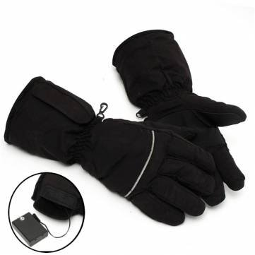Generic Heated Gloves Battery Power Motorcycle Hunting Winter Warm Outdoor Black