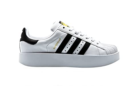 adidas Superstar Bold W White Black Gold