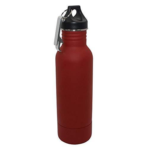 c32803568e10 Stainless Steel Beer Bottle Holder Bottle Opener Insulator Within Bottle  Keeps Beer Cold Fits Most 12oz Bottles@12oz_Red