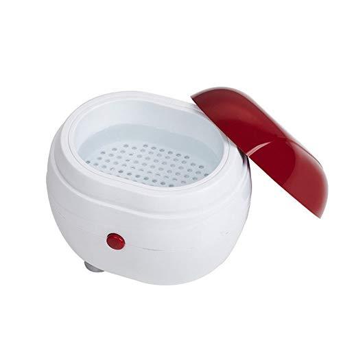 Tragbare Mini-Ultraschallwaschmaschinen-Schmucklinsen-Zahnersatzreiniger-Kasten