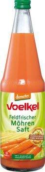 Frischer Saft aus Karotten kaufen Voelkel Bio Möhrensaft - 100% Direktsaft (6 x 700 ml)