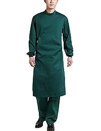 OPPP Ropa médica Bata quirúrgica Ropa médica Uniforme quirúrgico Ropa de Trabajo en el Hospital Uniforme de Enfermera Resistencia…