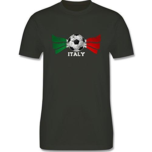 EM 2016 - Frankreich - Italy Fußball Vintage - Herren Premium T-Shirt Army  Grün