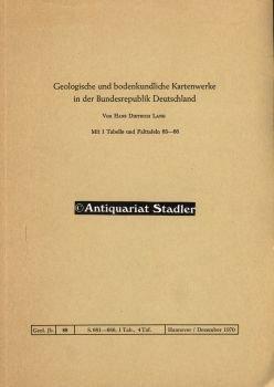 Geologische bodenkundliche Kartenwerke in der Bundesrepublik Deutschland.
