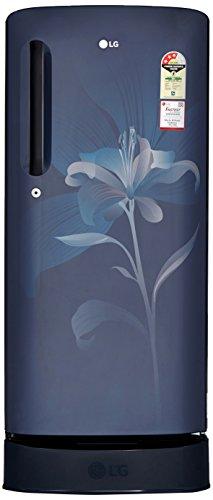 LG 190 L 3 Star Direct-Cool Single-Door Refrigerator (GL-D201AMLC, Marine...