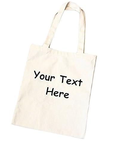 iTemer Canvas Letters Tote Shoulder Bag Creative Personalised Casual Handbag