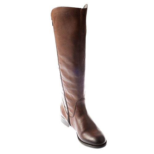 Remonte da donna Stivali alti in pelle (r6462–25) Brown