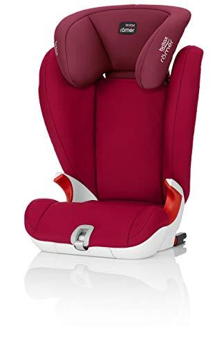 Britax Römer Kindersitz Gruppe 2/3, KIDFIX SL Autositz 15-36 kg, flame red