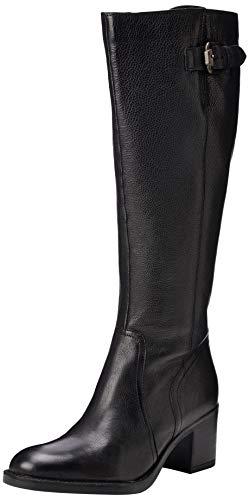 Clarks Mascarpone ELA, Botines para Mujer, Negro Black Leather, 38 EU