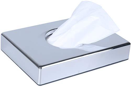 Spiegel Hygienebeutel Spender Bonus 2Refill Box Staubbeutel für Damen WC Edelstahl Finish Chrom