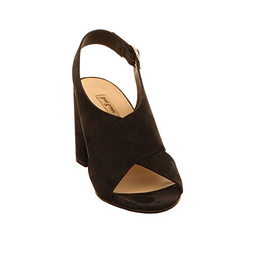 Paul Green 7117-012, Sandali Donna Nero