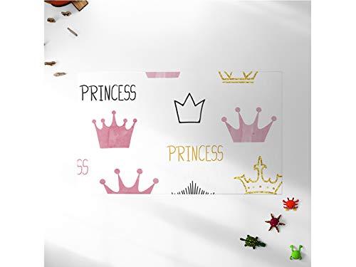 Oedim Alfombra Infantil Coronas Princess Habitaciones