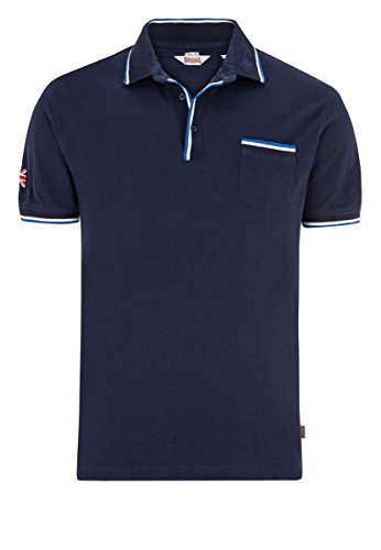 "Lonsdale ""Johnstone"" Polo (dunkelblau) Dark Navy"