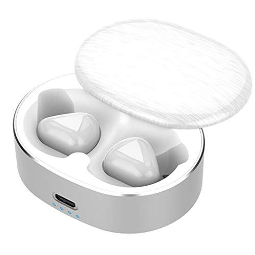 Mini Twins True Wireless Sport Bluetooth Kopfhörer Lautstärkeregler In-Ear Stereo Kopfhörer mit tragbarem Ladefach