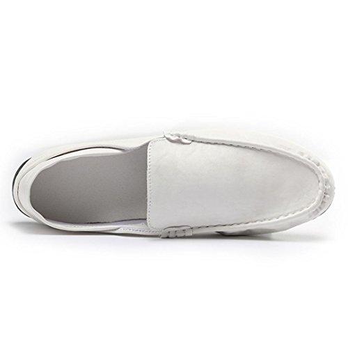 Scarpe Casual Uomo,Jamicy Pattini Slip Respirabili in Scarpe Casual bianca