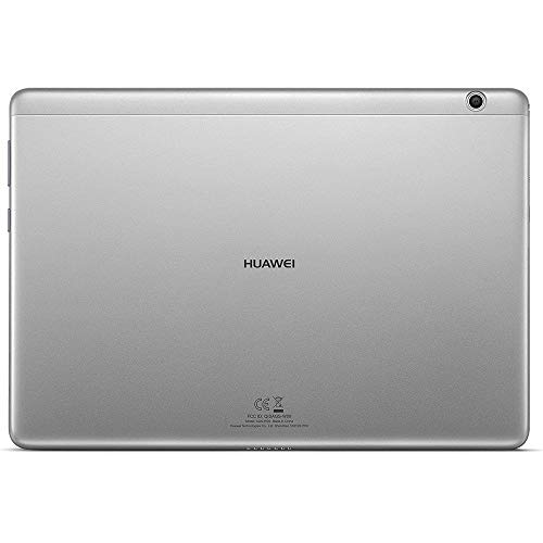 Huawei Mediapad T3 10 - Tablet de 9.6 pulgadas IPS HD (WiFi + 4G, Procesador quad-core Qualcomm Snapdragon 425, 2 GB de RAM, 16 GB de memoria interna, Android 7 Nougat), color gris