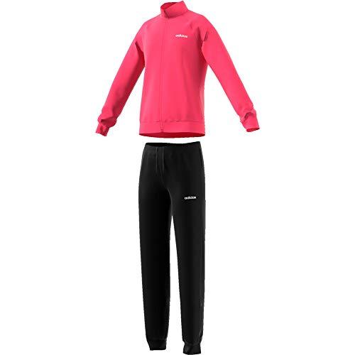adidas Mädchen Trainingsanzug Entry Tracksuit REAL PINK S18/white/black 116