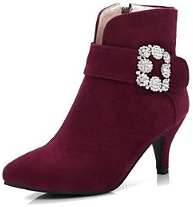 GLL&xuezi Mujer Botas Zapatos formales Confort Innovador Botas de Moda Botas hasta el Tobillo Suelas con luz Otoño...